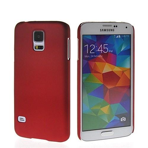 Microsonic Premium Slim Samsung Galaxy S5 Kılıf Kırmızı