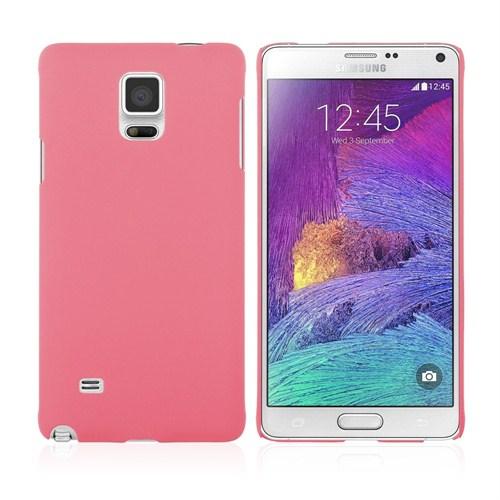 Microsonic Premium Slim Samsung Galaxy Note 4 Kılıf Pembe