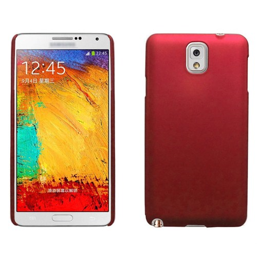 Microsonic Premium Slim Samsung Galaxy Note 3 Kılıf Kırmızı