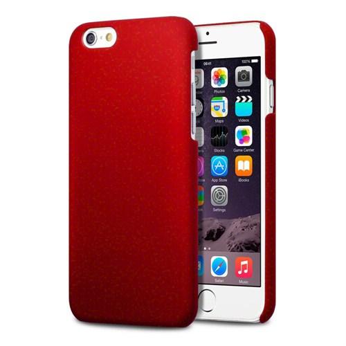 Microsonic Premium Slim İphone 6 Plus (5.5') Kılıf Kırmızı