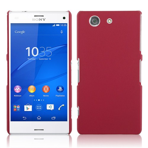 Microsonic Premium Slim Sony Xperia Z3 Compact (Z3 Mini) Kılıf Kırmızı