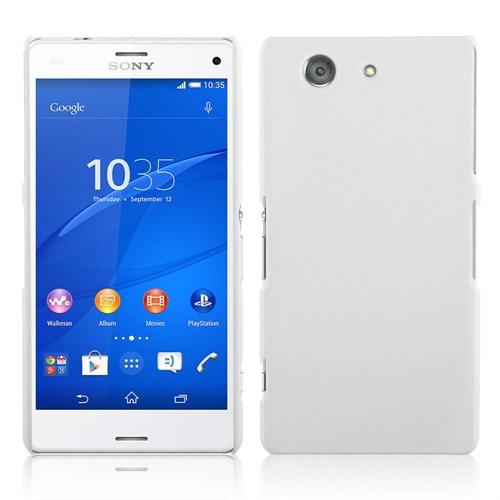 Microsonic Premium Slim Sony Xperia Z3 Compact (Z3 Mini) Kılıf Beyaz
