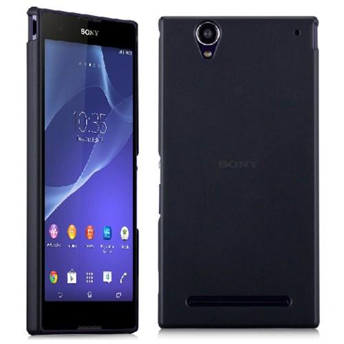 Microsonic Ultra Thin 0.2Mm Kılıf Sony Xperia T2 Ultra Siyah