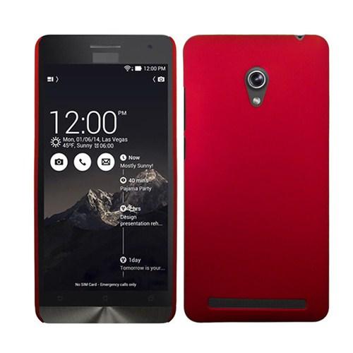 Microsonic Premium Slim Asus Zenfone 6 Kılıf Kırmızı