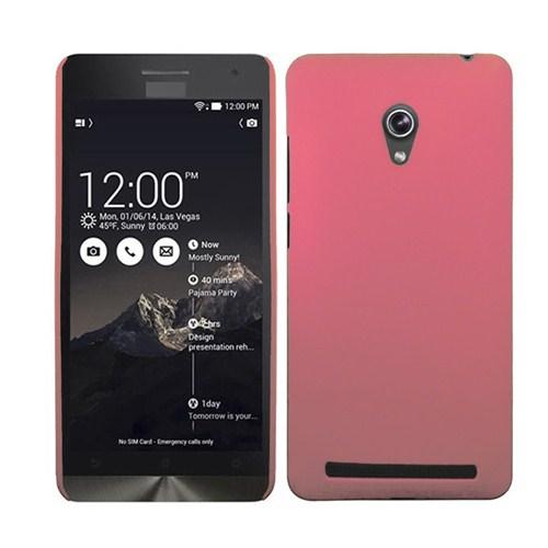 Microsonic Premium Slim Asus Zenfone 6 Kılıf Pembe
