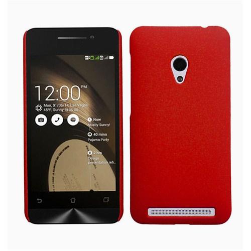 Microsonic Premium Slim Asus Zenfone 5 Kılıf Kırmızı