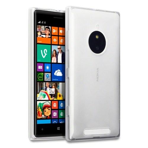 Microsonic Clear Soft Şeffaf Nokia Lumia 830 Kılıf