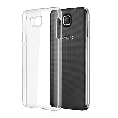Microsonic Kristal Şeffaf Samsung Galaxy Alpha Kılıf