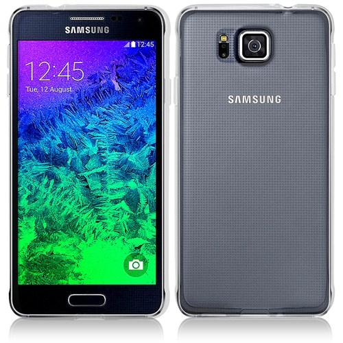 Microsonic Clear Soft Şeffaf Samsung Galaxy Alpha Kılıf