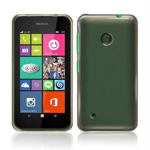 Microsonic Transparent Soft Nokia Lumia 530 Kılıf Siyah