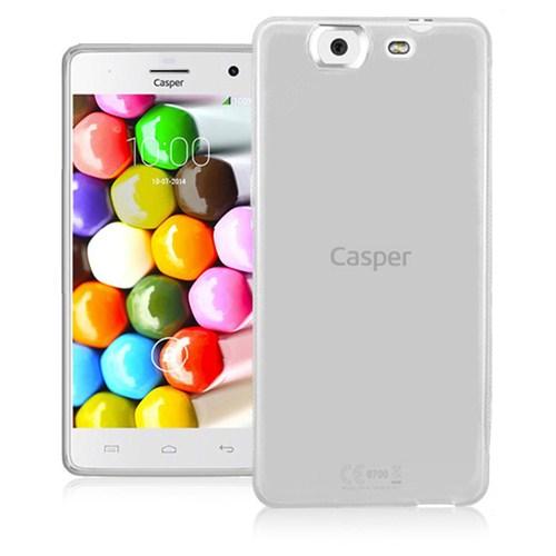 Microsonic Glossy Soft Casper Via V8 Kılıf Beyaz