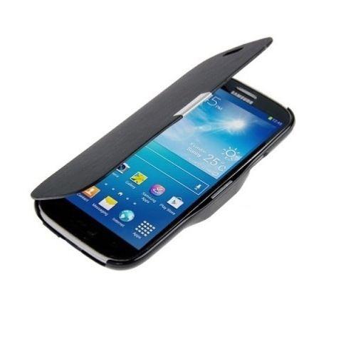 Microsonic Mıknatıslı Ultra Thin Kapaklı Samsung Galaxy S4 Mini Kılıf Siyah