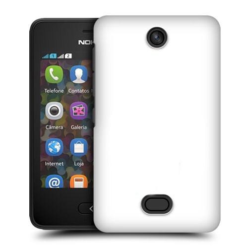 Microsonic Premium Slim Nokia Asha 501 Kılıf Beyaz