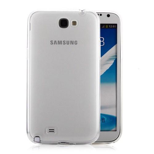 Microsonic Samsung Galaxy Note 2 Clear Soft Şeffaf Kılıf