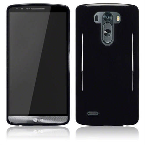 Microsonic Glossy Soft Lg G3 Kılıf Siyah