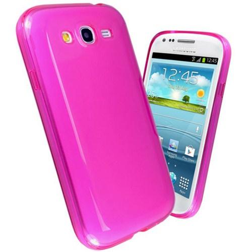 Microsonic Glossy Soft Kılıf Samsung Galaxy Grand Duos İ9080 / İ9082 Pembe
