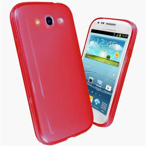 Microsonic Glossy Soft Kılıf Samsung Galaxy Grand Duos İ9080 / İ9082 Kırmızı