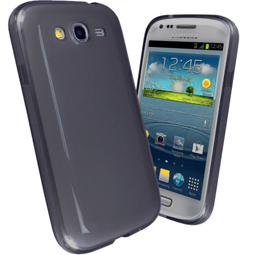 Microsonic Glossy Soft Kılıf Samsung Galaxy Grand Duos İ9080 / İ9082 Siyah