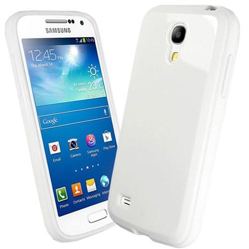 Microsonic Glossy Soft Kılıf Samsung Galaxy S4 Mini İ9190 Beyaz