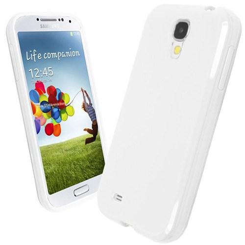 Microsonic Glossy Soft Kılıf Samsung Galaxy S4 İ9500 Beyaz