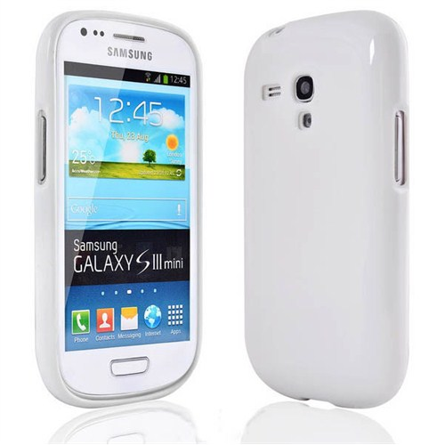 Microsonic Glossy Soft Kılıf Samsung Galaxy S3 Mini İ8190 Beyaz