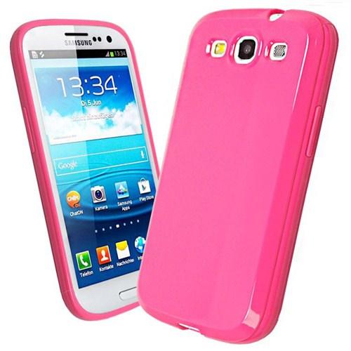 Microsonic Glossy Soft Kılıf Samsung Galaxy S3 İ9300 Pembe
