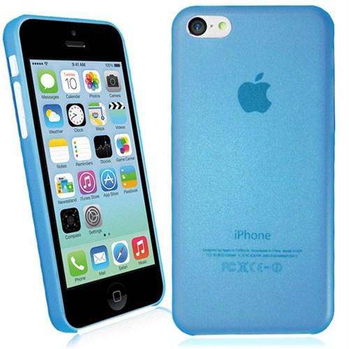 Microsonic Ultra Thin 0.2Mm Kılıf İphone 5C Mavi