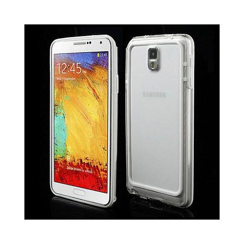 Microsonic Hybrid Transparant Kılıf - Samsung Galaxy Note 3 N9000 Beyaz