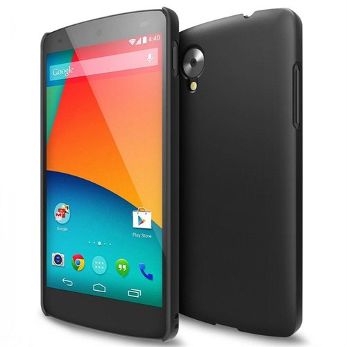 Microsonic Rubber Kılıf Lg Google Nexus 5 Siyah