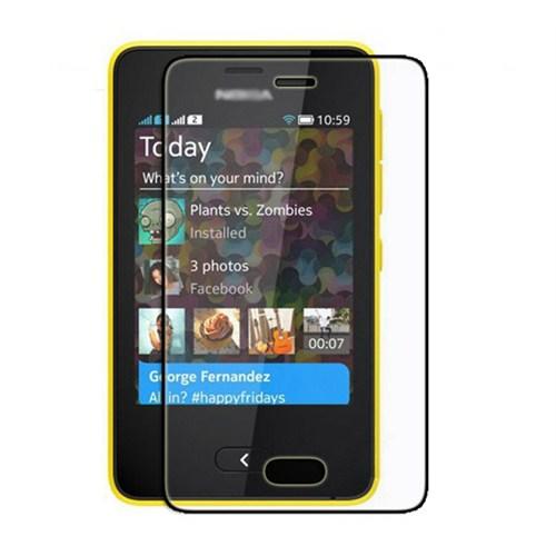 Microsonic Nokia Asha 501 Ultra Şeffaf Ekran Koruyucu Film