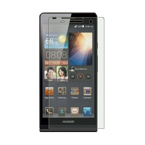 Microsonic Huawei Ascent P6 Ultra Şeffaf Ekran Koruyucu Film