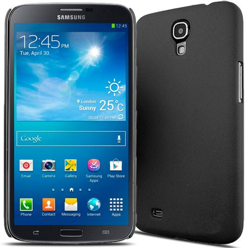 Microsonic Rubber Kılıf Samsung Galaxy Mega 6.3 İ9200 Siyah