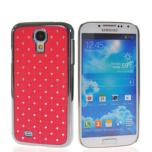 Microsonic Bling Luxury Case Kılıf Samsung Galaxy S4 Iv I9500 Kırmızı