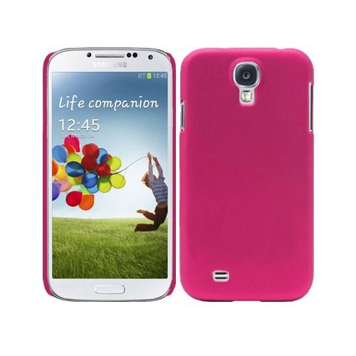 Microsonic Rubber Kılıf Samsung Galaxy S4 Iv Pembe