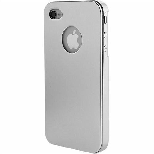 Microsonic Metallic Air Slim Case İphone 5 & 5S Kılıf Gümüş