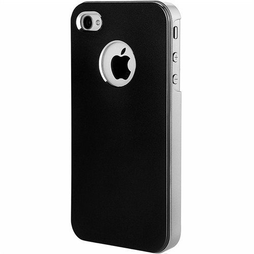 Microsonic Metallic Air Slim Case İphone 5 & 5S Kılıf Siyah