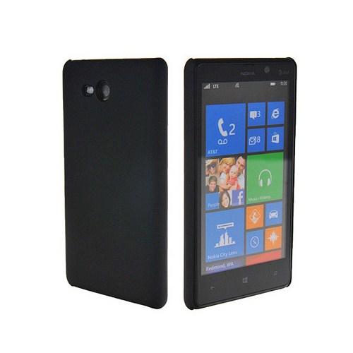 Microsonic Rubber Kılıf Nokia Lumia 820 Siyah