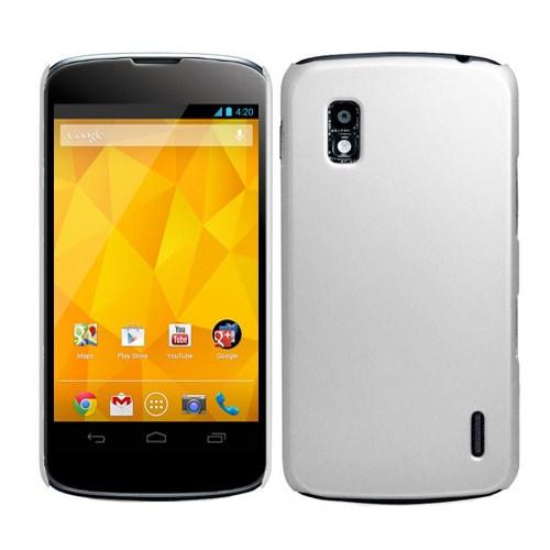 Microsonic Rubber Kılıf Lg Galaxy Nexus 4 E960 Beyaz