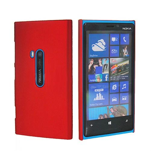 Microsonic Rubber Kılıf Nokia Lumia 920 Kırmızı