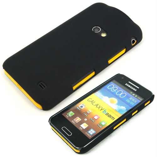 Microsonic Rubber Kılıf Samsung Galaxy Beam I8530 Siyah