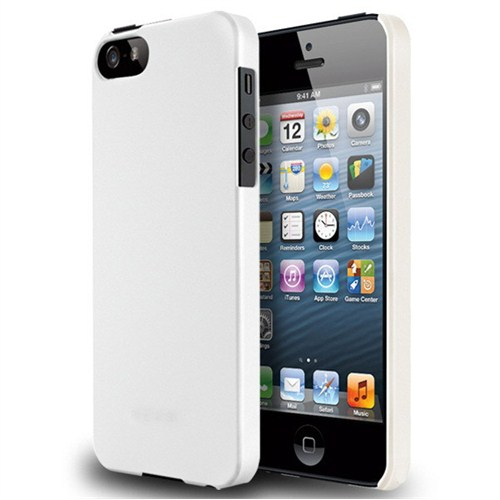 Microsonic İphone 5 & 5S Rubber Kılıf Beyaz