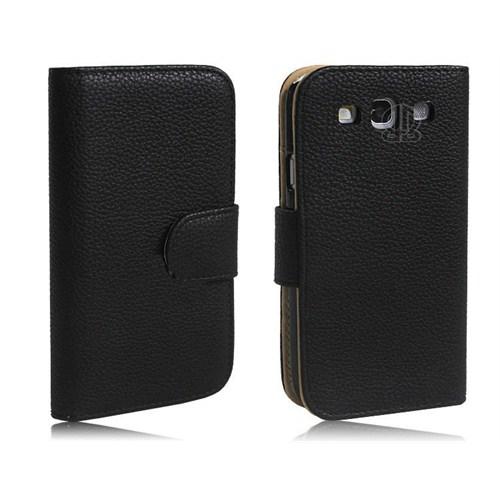 Microsonic Wallet Leather Cüzdanlı Deri Kılıf - Samsung Galaxy İ9300 S3
