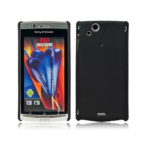 Microsonic Rubber Case Kılıf - Sony Ericsson Arc S Siyah