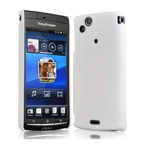 Microsonic Rubber Case Kılıf - Sony Ericsson Arc S Beyaz