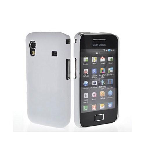 Microsonic Rubber Case Kılıf - Samsung Galaxy Ace S5830 Beyaz