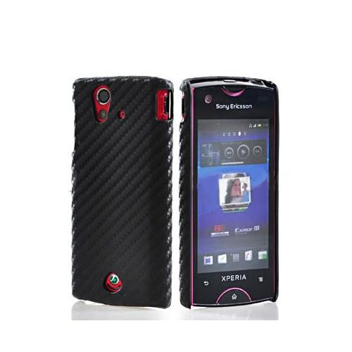 Microsonic Sony Ericsson Ray Carbon Fiber Sert Kılıf