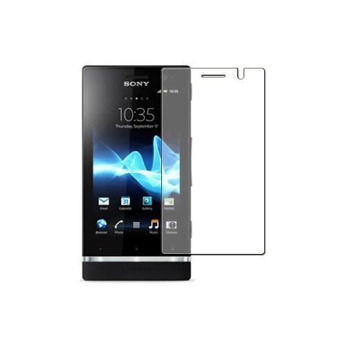 Microsonic Ekran Koruyucu Şeffaf Film - Sony Ericsson Xperia P