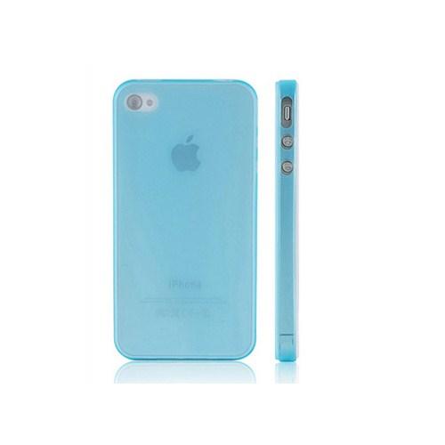 Microsonic 0,35Mm Ultra İnce İphone 4 / 4S Kılıfı Mavi