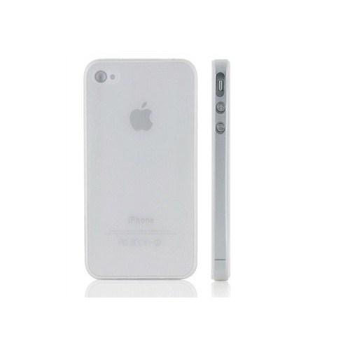 Microsonic 0,35Mm Ultra İnce İphone 4 / 4S Kılıfı Beyaz