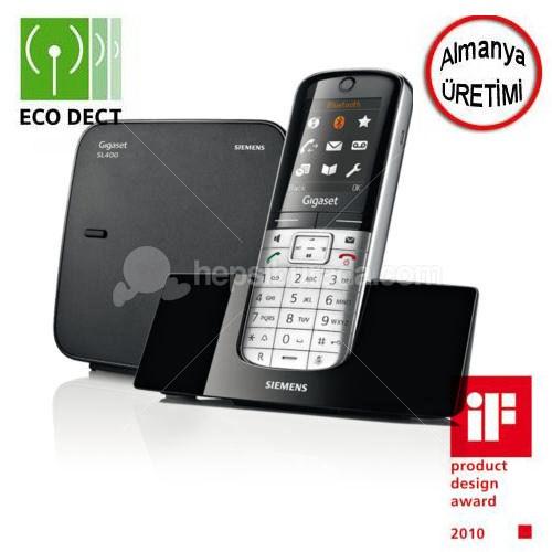 Gigaset Dect Telefon SL400 (Bluetooth + Sms + Titreşim)